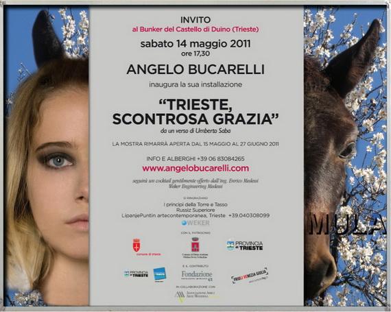 Angelo Bucarelli installazione