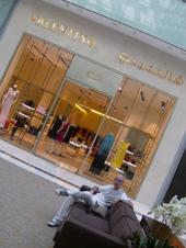 Valentino Odorico al Valentino Store Dubai