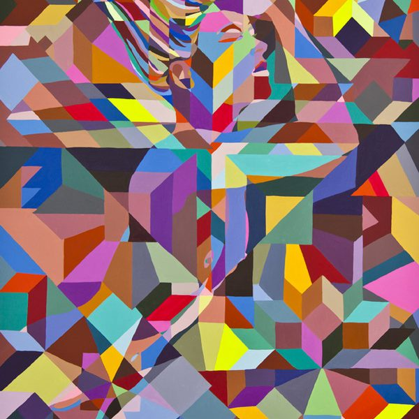 C.Finley: Future Islands - 100x80cm (acrylic on canvas)