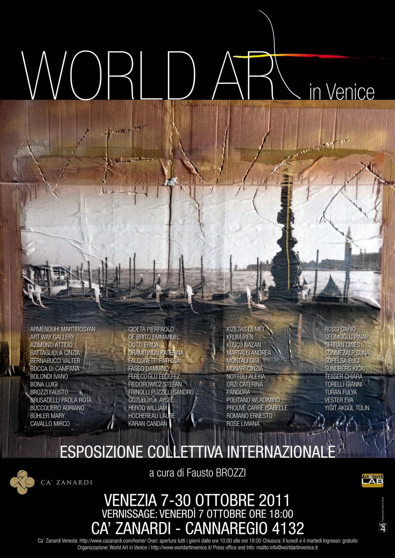 World Art in Venice - Locandina