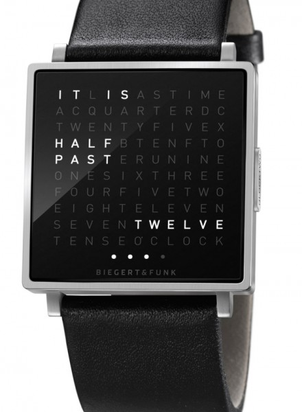 qlocktwo_W orologio da polso