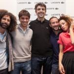 Gianni Cinelli, Stefano Colombo, Federico Basso, Davide Pagnate, Marta Zoboli. (Ph Meschina)
