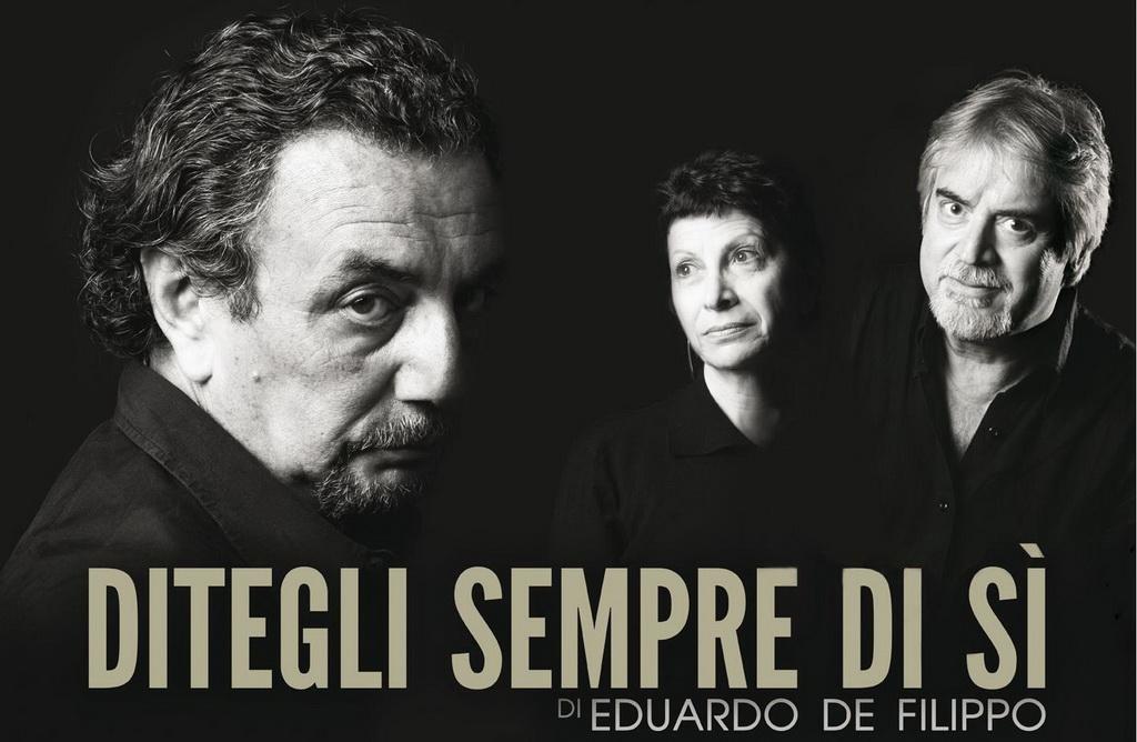 commedia di Eduardo De Filippo: ditegli sempre di si