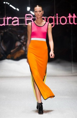 Laura Biagiotti ss2013 optical multicolor