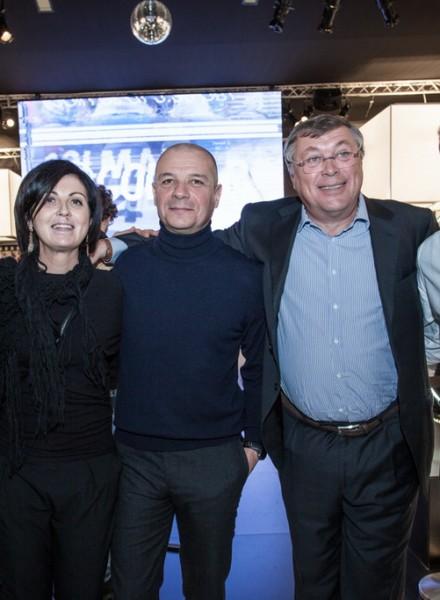I 90 anni di COLMAR con Kristian Ghedina, Federica Dettori, Giulio Colombo, Mario Colombo, Paolo De Chiesa