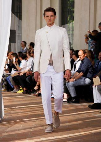 Sergio Corneliani moda uomo