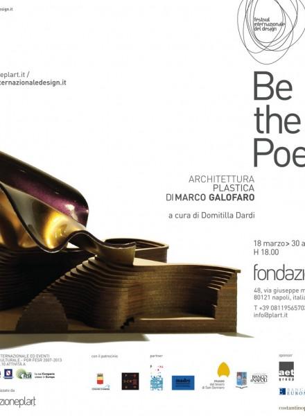 Festival Internazionale Del Design FONDAZIONE PLART - Napoli - BE THE POEM architettura plastica